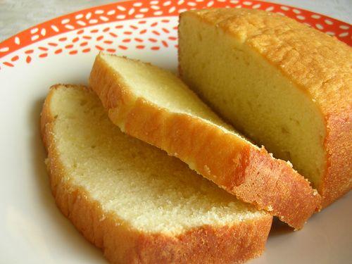 Lightened Up Sour Cream Pound Cake My Edible Memories